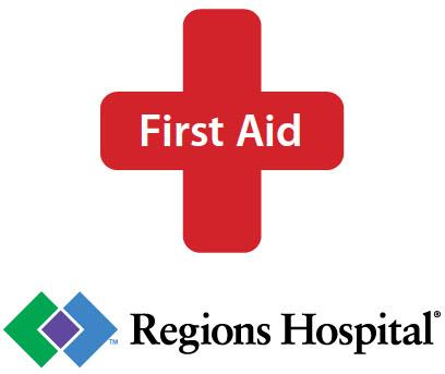 First Aid Logo Vertical – Regions EMS
